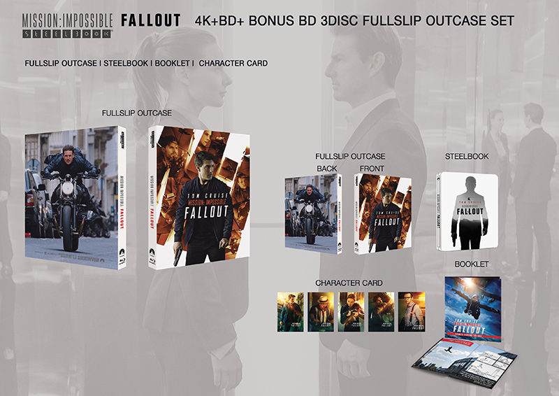 Item Detail :[BLU-RAY]MISSION: IMPOSSIBLE - FALLOUT EDITION